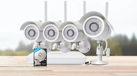 Wireless CCTV cameras installation